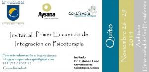 Primer Encuentro de Integración en Psicoterapia